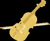 いそのまい音楽教室|楽器のイラスト