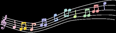 いそのまい音楽教室|音符のイラスト
