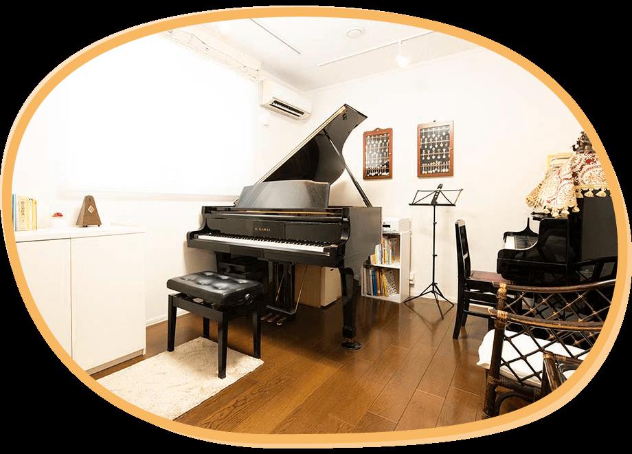 ピアノレッスンはいそのまい音楽教室|教室