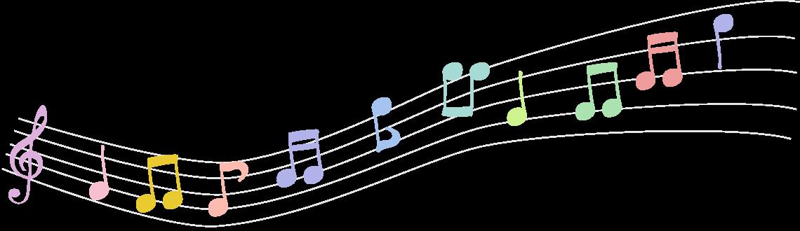 ピアノレッスンはいそのまい音楽教室|音符イラスト